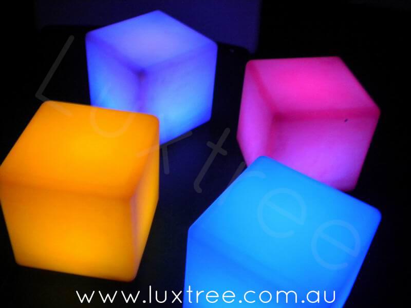 LED Glow Cubes (seats)